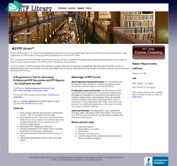 Link to RTF Library website