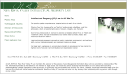 Link to New River Valley IP Law website